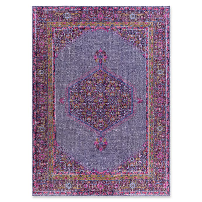 Alternate image 1 for Surya Zahra Classic 8' x 11' Area Rug in Purple/Pink