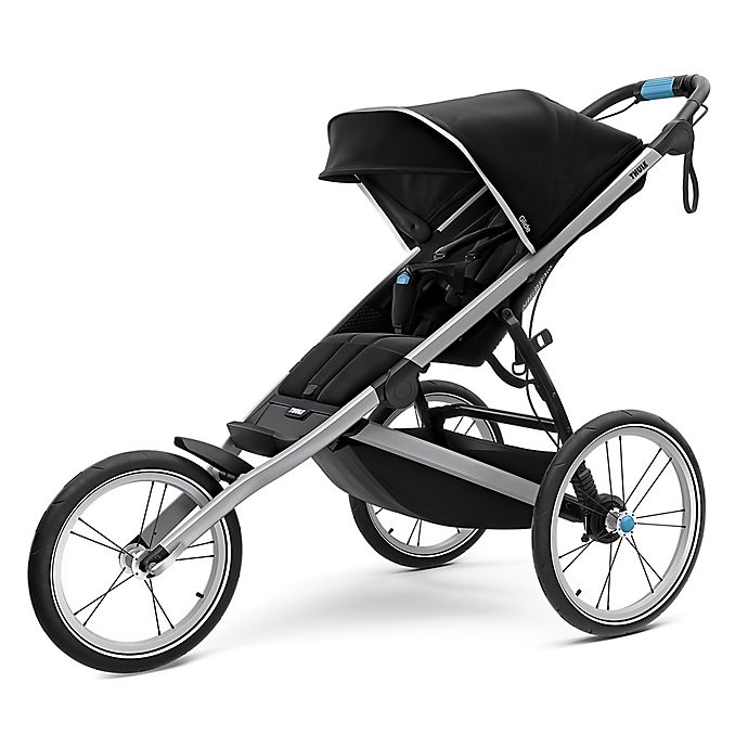 Alternate image 1 for Thule® Glide 2 Jogging Stroller in Jet Black