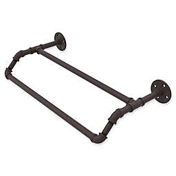 Allied Brass Pipeline Collection 24-Inch Double Towel Bar in Oil Rubbed Bronze
