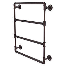 Allied Brass Pipeline Collection Wall Mounted Ladder Towel Bar
