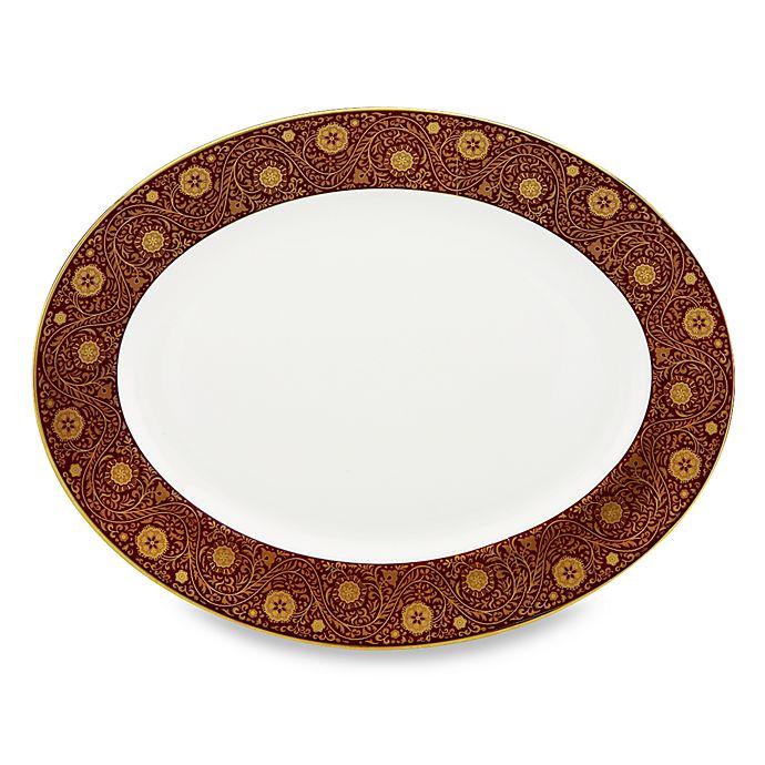 Alternate image 1 for L by Lenox® Floral Majesty 13-Inch Serving Platter