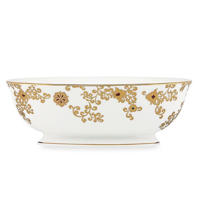 Alternate image 1 for L by Lenox® Floral Majesty 9.5-Inch Vegetable Bowl