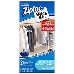 Ziploc® Space Bag® 2-Piece Hanging Straight Canada Bag
