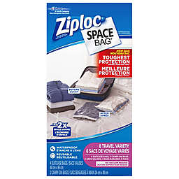 Ziploc® Space Bag® 6-Piece Variety Tough Travel Canada Set