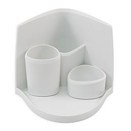 Advantus Silhouette Cosmetic Organizer in White