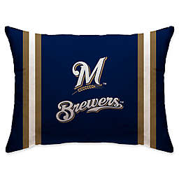 MLB Milwaukee Brewers Bed Pillow