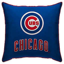 MLB Chicago Cubs Logo Throw Pillow b4f05afdb