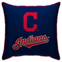 MLB Cleveland Indians Logo Throw Pillow