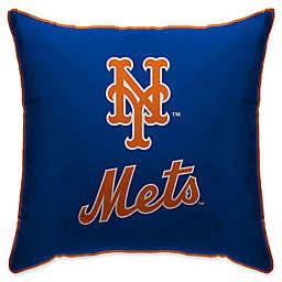MLB New York Mets Logo Throw Pillow
