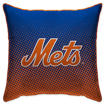 MLB New York Mets Dots Throw Pillow