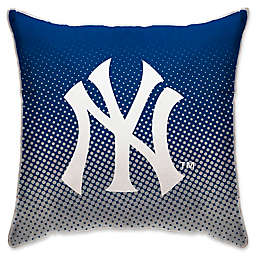MLB New York Yankees Dots Throw Pillow
