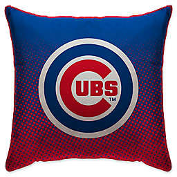 MLB Chicago Cubs Dots Throw Pillow