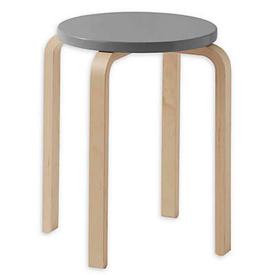 Linon Home Bentwood Stackable Stool