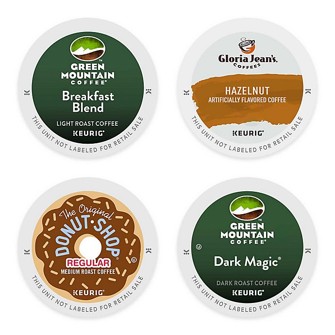 Alternate image 1 for Keurig® K-Cup® Coffee Value Pack Collection