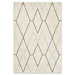 Safavieh Nicole Geometric 4' x 6' Area Rug in Ivory