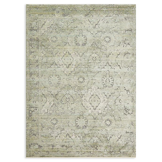 Alternate image 1 for Magnolia Home by Joanna Gaines Ophelia 2' x 3'4 Accent Rug in Pistachio/Grey
