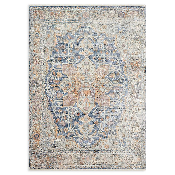Alternate image 1 for Magnolia Home by Joanna Gaines Ophelia 3'7 x 5'2 Area Rug in Blue/Multi