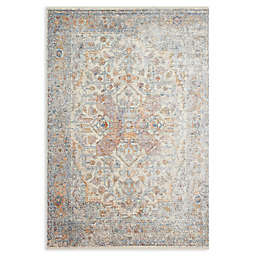 Magnolia Home by Joanna Gaines Ophelia Loomed Area Rug in Ivory/Multi
