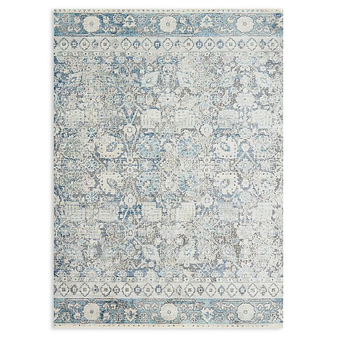 Alternate image 1 for Magnolia Home by Joanna Gaines Ophelia Rug in Grey/Sky