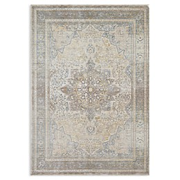 Magnolia Home by Joanna Gaines Ella Rose Rug in Stone/Blue