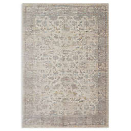 Magnolia Home by Joanna Gaines Ella Rose Loomed Area Rug in Stone