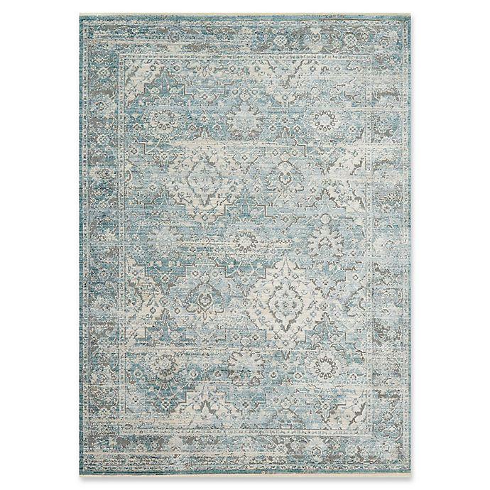 Alternate image 1 for Magnolia Home by Joanna Gaines Ophelia 9'6 x 12'6 Area Rug in Aqua/Grey