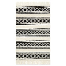 Magnolia Home by Joanna Gaines Holloway Rug in Ivory/Black