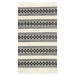 Magnolia Home by Joanna Gaines Holloway 9'3 x 13' Area Rug in Ivory/Black