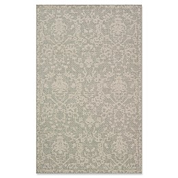 Magnolia Home by Joanna Gaines Warwick 9'2 x 12'1 Indoor/Outdoor Area Rug in Grey/Silver