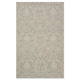 Magnolia Home by Joanna Gaines Warwick 9'2 x 12'1 Indoor/Outdoor Area Rug in Grey/Silver