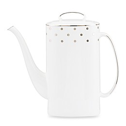 kate spade new york Larabee Road™ Platinum Coffeepot