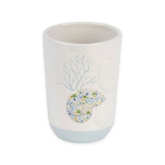 Alternate image 1 for Saturday Knight Seaside Blossoms Tumbler in White