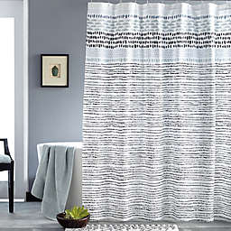 DKNY Vibe Shower Curtain in Black
