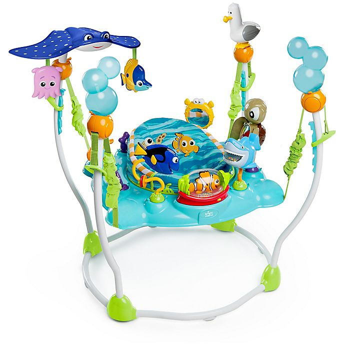 Alternate image 1 for Bright Starts™ Finding Nemo Sea of Activities Jumper