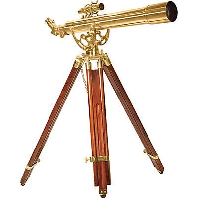 Barska® 28x60mm Anchormaster Brass Telescope with Mahogany Tripod