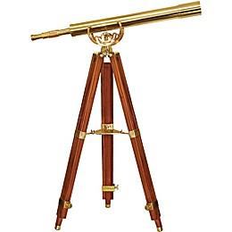 Barska® 36x80mm Anchormaster Brass Telescope with Mahogany Tripod