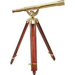 Barska® 18x50mm Anchormaster Brass Telescope with Mahogany Tripod