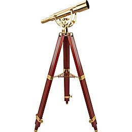 Barska® 60x60mm Anchormaster Spyscope Brass Telescope with Mahogany Tripod