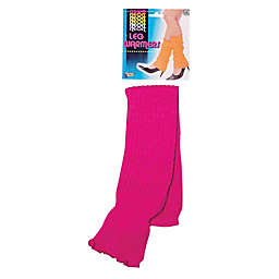 Forum Novelties Neon One-Size Adult Leg Warmers in Pink