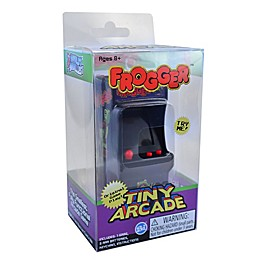 Tiny Arcade® Frogger Classic Arcade Video Game