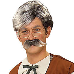 Forum Novelties© Adult Geppetto Wig and Mustache
