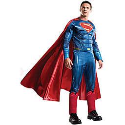 One Size Batman v Superman Grand Heritage Superman Adult Halloween Costume