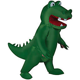 Gemmy One Size Adult Inflatable Alligator Costume