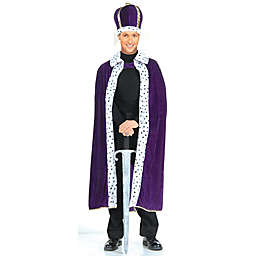 Forum Novelties King Robe & Crown Adult Costume Kit