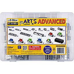 E-Blox® pARTS™ Advanced 100-Piece Electronic LED Building Block Set