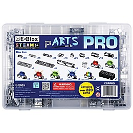 E-Blox® pARTS™ Pro 220-Piece Electronic LED Building Block Set