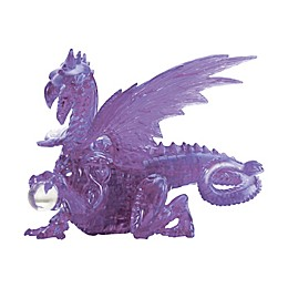 BePuzzled® 56-Piece Purple Dragon 3D Crystal Puzzle