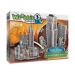 Wrebbit™ New York Collection 900-Piece Midtown West 3D Puzzle
