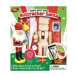 Masterpieces Puzzles Works of Ahhh Nutcracker Santa Wood Painting Kit