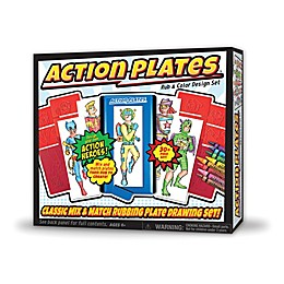 Action Plates™ Rub & Color Design Set